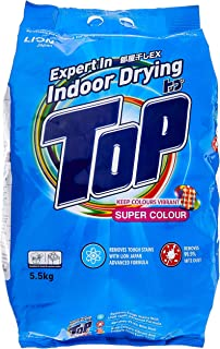 Top Powder Detergent, Super Colour, 5.5kg