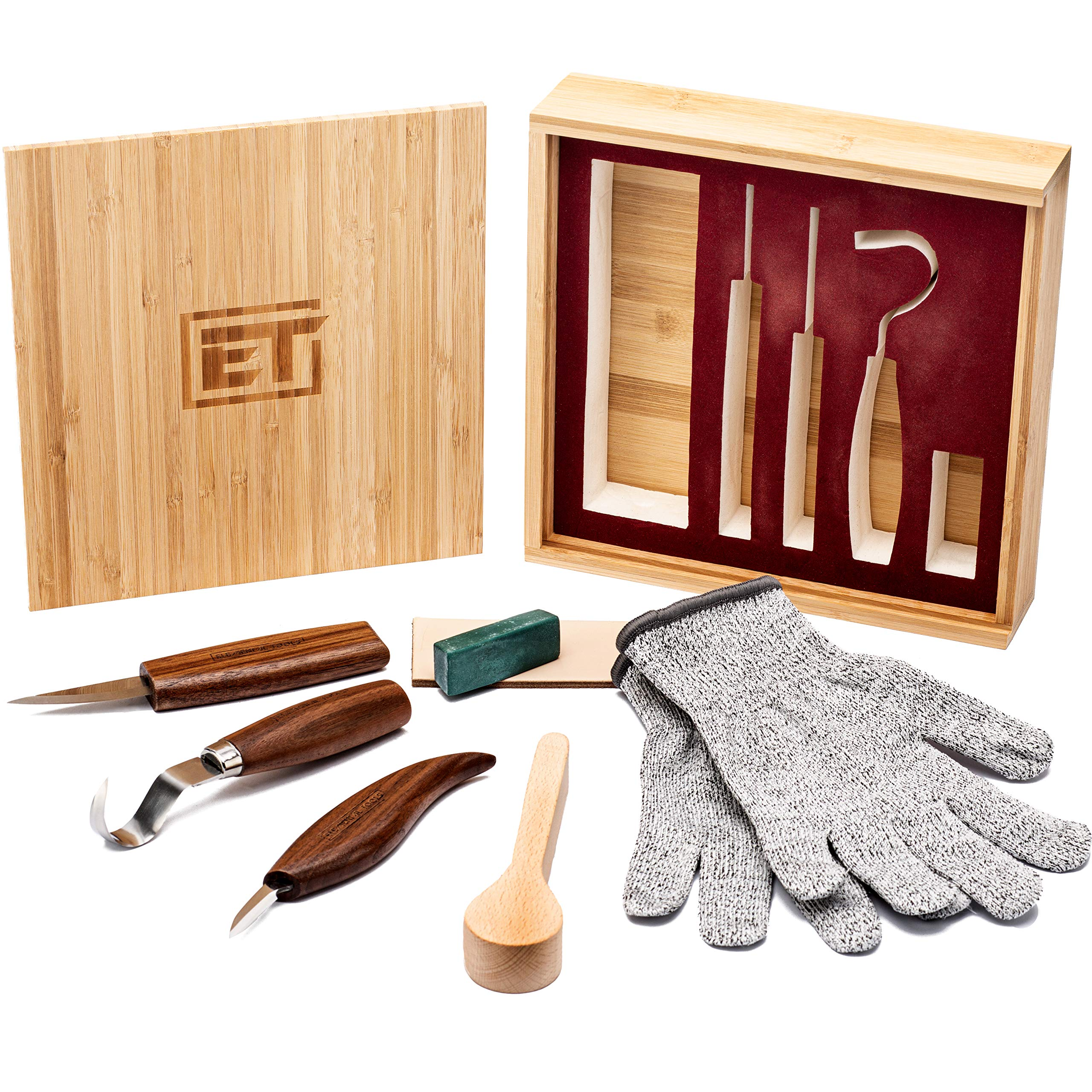 Elemental Tools 9pc Wood Carving