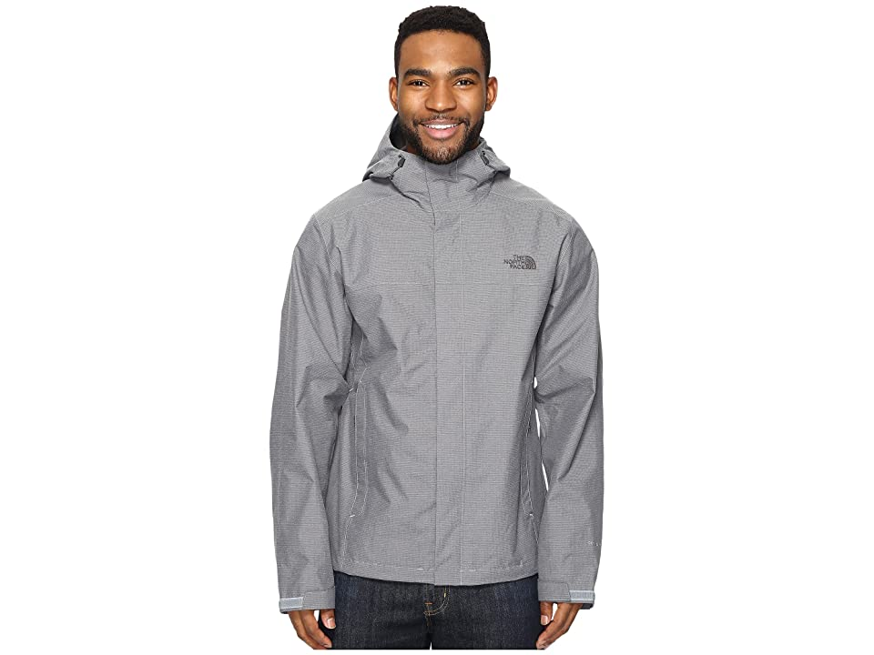 0ccede173f0d The North Face Venture 2 Jacket (Mid Grey Ripstop Heather Mid Grey Ripstop  Heather) Men s Coat