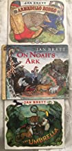 Signed Book set of 3 Armadillo Rodeo The Umbrella On Noah's Ark Autographed by Jan Brett