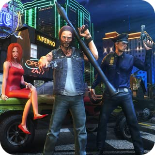 Criminal Mind In Vegas City Ganglands Hard Time Shooter Survival 3D: Miami Auto Theft  Gangster Kill Crime City Simulator Mission Adventure Games Free For Kids 2018