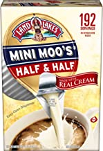 Land O Lakes Mini Moos Creamer Half & Half Cups 192Count 54 Fl Oz (Pack May Vary), Individual Shelf-Stable Half & Half Pods for Coffee Tea Hot Chocolate, Made With Real Cream