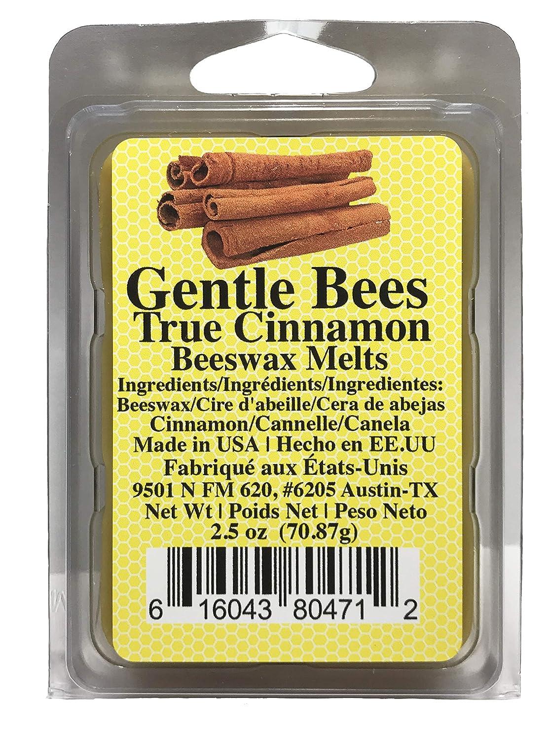 Gentle Bees Organic True Cinnamon Beeswax Melts, 2.5 Ounces