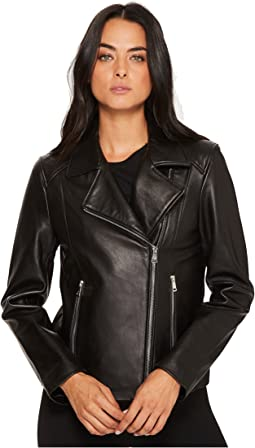 LAUREN Ralph Lauren - Leather Moto