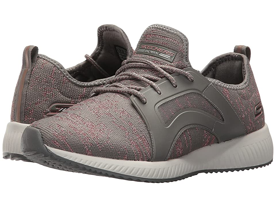 BOBS from SKECHERS Bobs Squad Glossy Finish (Dark Taupe) Women