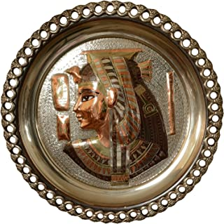 copper egyptian plate