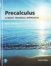 Best precalculus a right triangle approach 4th edition Reviews