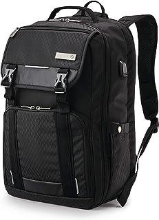 쌤소나이트 캐리어 트러커 백팩 (15.6인치 랩탑용) - 블랙 Samsonite Carrier Tucker Backpack
