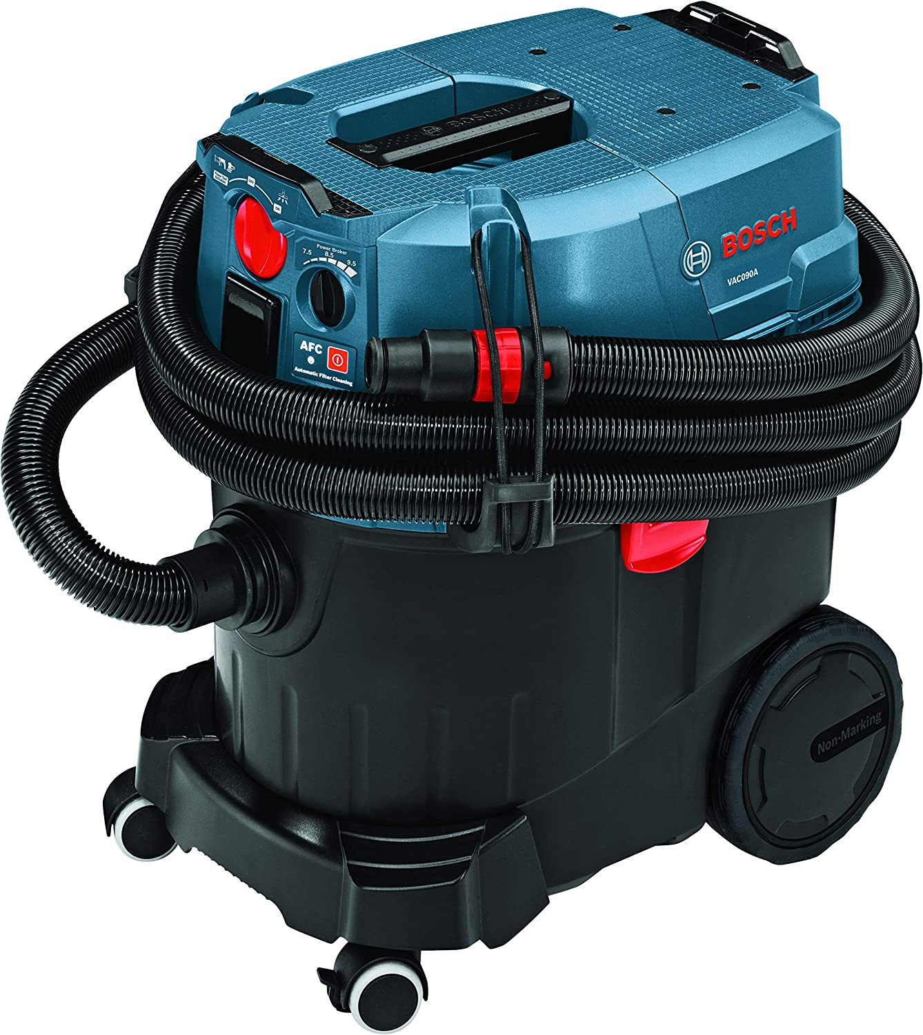 BOSCH 9 Gallon Dust Extractor with Auto Filter Clean and HEPA Filter VAC090AH : Everything Else