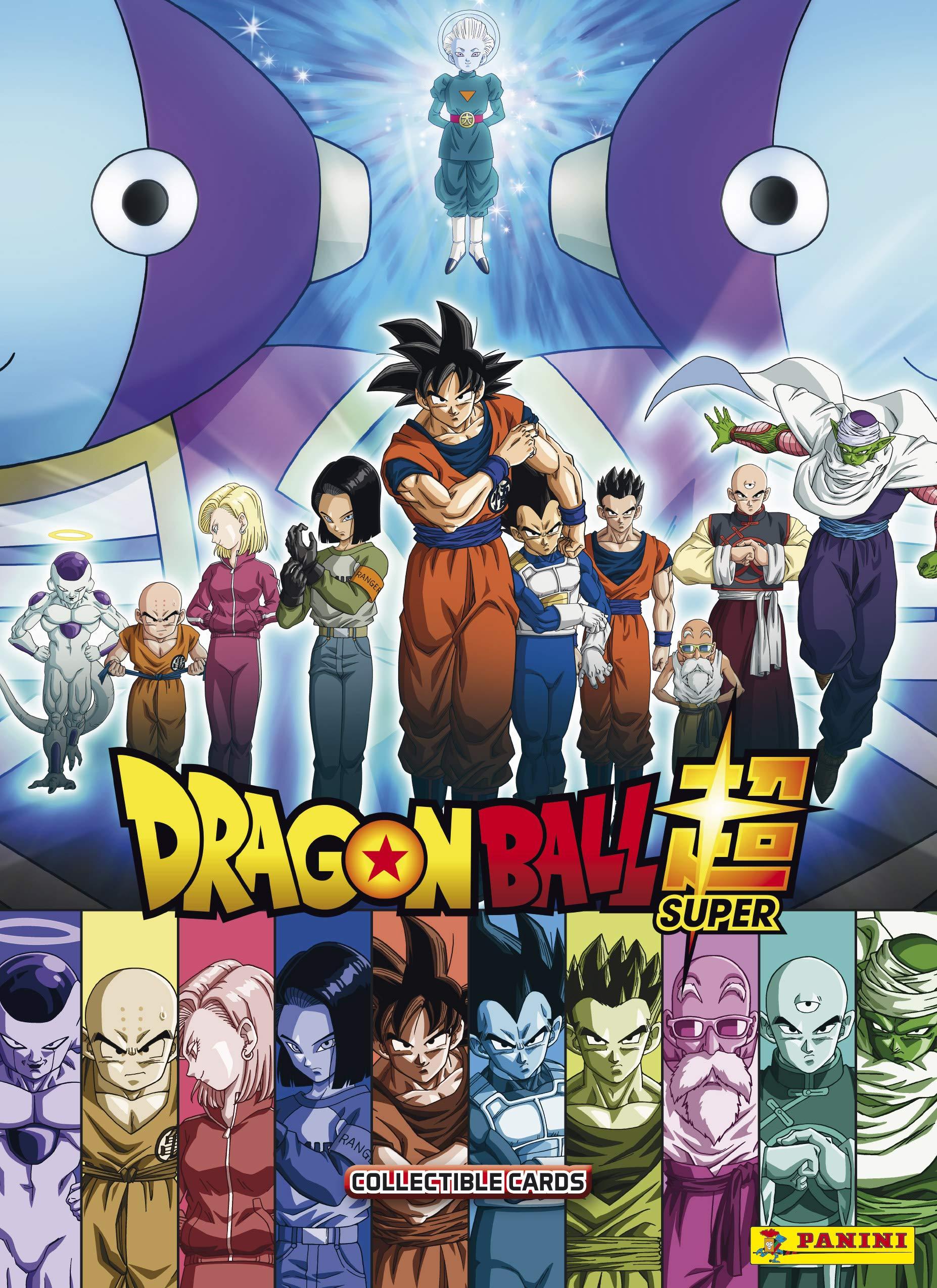 Panini carpeta + 2 fundas TC Dragon Ball Super, 2501 – 014 , color/modelo surtido: Amazon.es: Juguetes y juegos