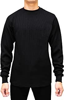 Men's Heavyweight Long Sleeve Thermal Crew Neck Top
