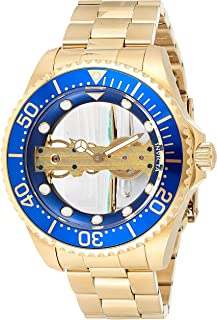 Men's Pro Diver Ghost Bridge Silver Transparent Dial