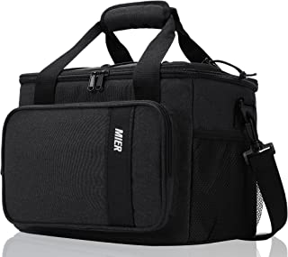 MIER Insulated Lunch Cooler Bag for Men Women, 24 Can Large Lunch Bags Tote Leakproof Lunchbox Coolers for Work Travel Pic...