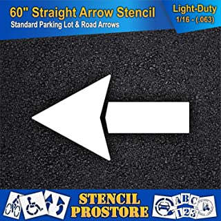Best arrow wall stencil Reviews