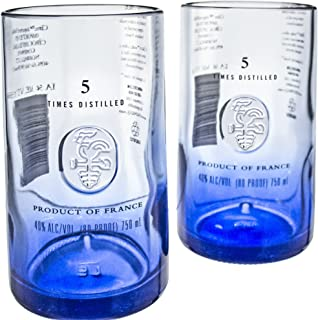 Ciroc Premium Vodka Reclaimed Bottles Glassware Barware Drinkware Tumbler Glasses Gift Set