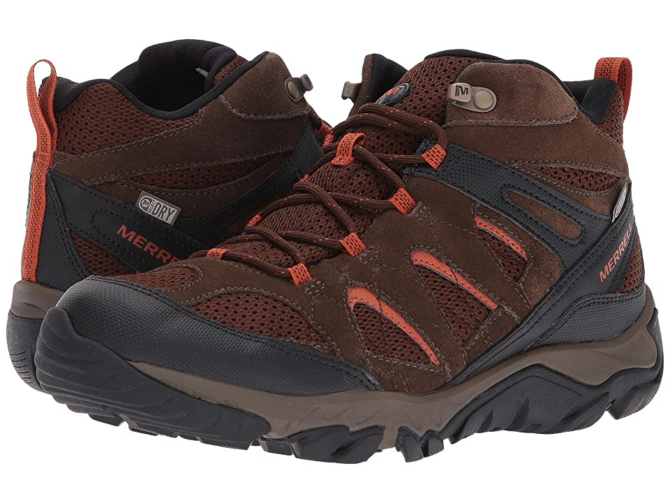 Merrell Outmost Mid Vent Waterproof (Slate Black) Men