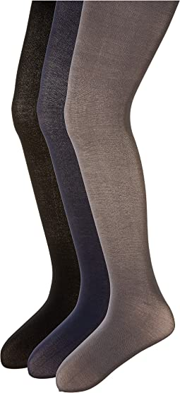 Pima Cotton Tights 3-Pair Pack (Infant/Toddler/Little Kid/Big Kid)