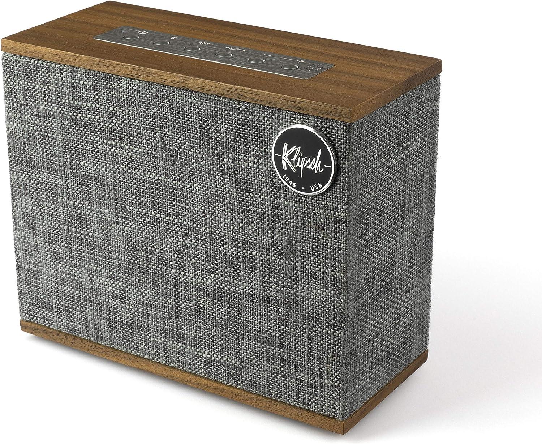 Klipsch Heritage Groove Portable Bluetooth Speaker in Walnut