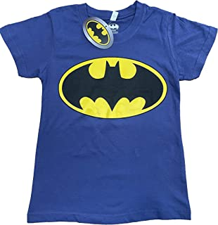 Camiseta de Batman de niño original 100% algodón