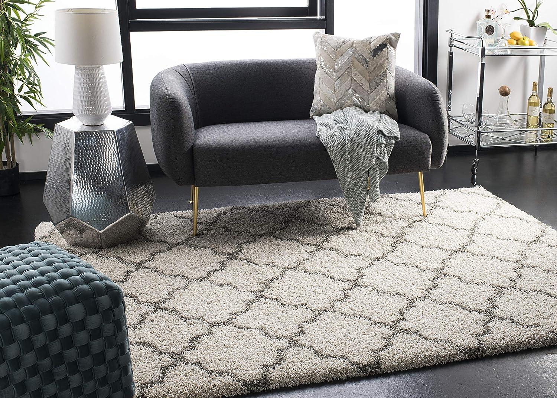 Safavieh SGH282 Teppich Polypropylen Elfenbein Grau, Grau, Grau, 160 x 230 cm B00PSM06SG fb05c7