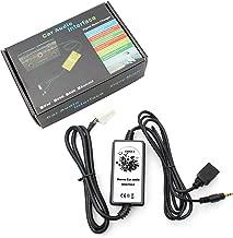 Amooca Audio Input Auxillary Aux Adapter For Mazda 2003-2011 M3 2003-2011 M6 1999-2003 323 2003-2008 Miata 2003-2008 MX5 2002-2011 MPV 2006-2011 CX7