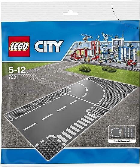 LEGO City Polizei Gerade und T-Kreuzung 60236 60237 Kurve und Kreuzung