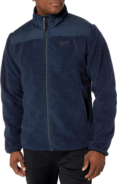 Helly-Hansen Men's Oslo Reversible Pile Jacket with Water Resistant Interior