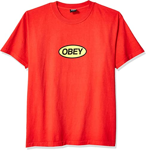 Obey SS Box T-Shirt empilable pour Homme