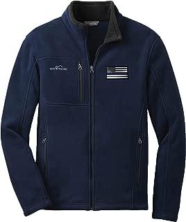 Eddie Bauer American Flag Blue Line Fleece Full Zip EB200