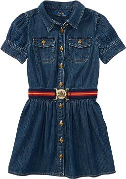 Polo Ralph Lauren Kids Denim Shirtdress (Little Kids)
