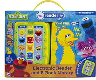 Sesame Street Me Reader Jr Electronic Reader and 8 Book Library - PI Kids