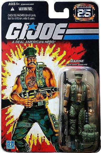 2007 G.I. Joe - 25th Anniversary - Collector Edition - Wave 3 MARINE Code Name  GUNG HO