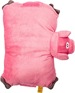 Go-Travel Kids Pig Folding Pillow, Pink, 2692