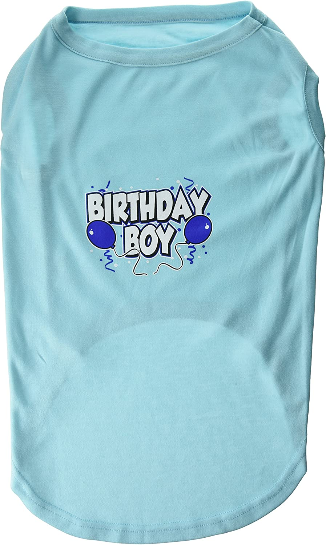 Mirage Pet Products 20Inch Birthday Boy Screen Print Shirts, 3XLarge, Aqua