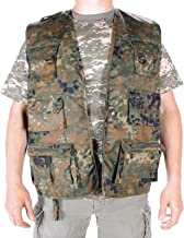 Miltec Flecktarn Camouflage Hunting and Fishing Vest