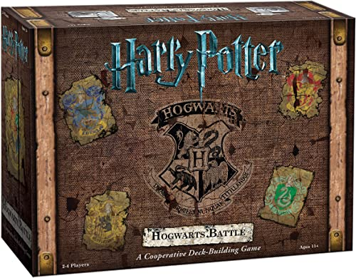 USAopoly Current Edition Harry Potter Hogwarts Battle A Cooperative Deck Building Game Board Game