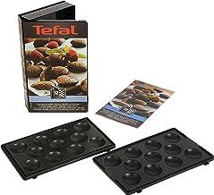 Tefal XA8012 Snack Collection, Plaat Poffertjes, nummer 12, Zwart