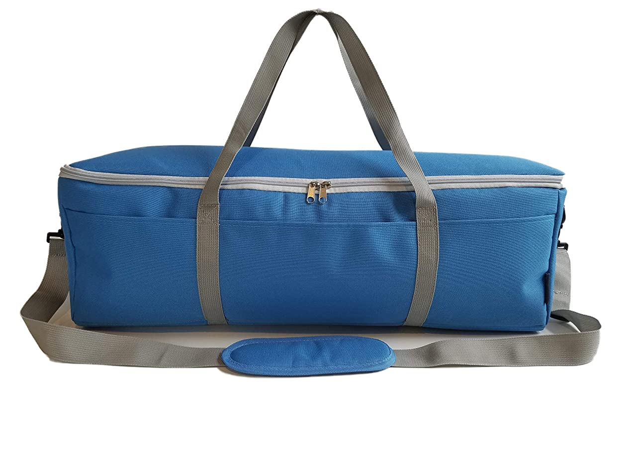 StarPlus2 Padded Craft Machine Shoulder Carry Bag, Sized to Fit Cricut Explore, Explore Air, Air 2, One, Maker, Silhouette Cameo 3 - Blue