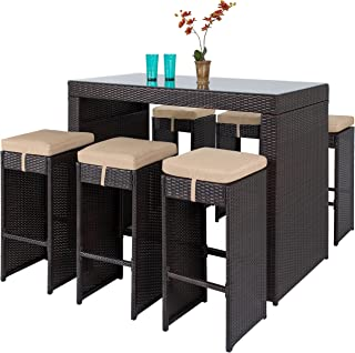 broyhill 7 piece outdoor bar set