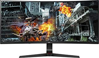 LG 34GL750-B 34 inch 21: 9 Ultragear Curved Wfhd (2560 X 1080) IPS 144Hz G-SYNC Compatible Gaming Monitor,Black