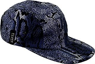 FLVFF 5 Panel Hat for Men Women Flat Brim Baseball Cap Urban Street Camper Hats (P2)