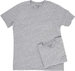 Richer Poorer Pocket Tee 2-Pack