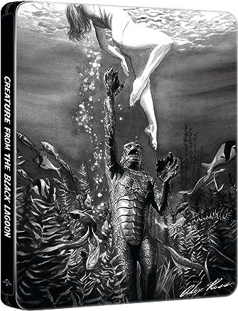 大アマゾンの半魚人 ブルーレイ 数量限定スチールブック デザイン特別仕様 [リージョンフリー ※英語字幕](輸入版)