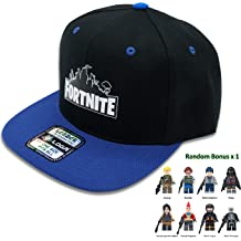 a6e4297b5c3 Fortnite Battle Royale Unisex Adjustable Hats with Minifigure Hip Hop Baseball  Caps for Boys Girls (
