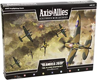 Wizards of the Coast Axis and Allies Miniatures Angels 20 Air Force Starter Set Miniature Game