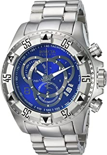 Men's Connection Quartz Watch with Stainless-Steel Strap, Silver, 26 (Model: 24731)