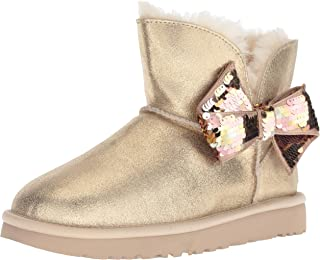 Women's W Mini Sequin Bow Fashion Boot