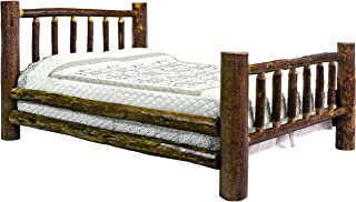 Montana Woodworks Glacier Country Collection Bed, Queen, Stain and Lacquer