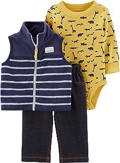 3-Piece Animal Little Vest Set
