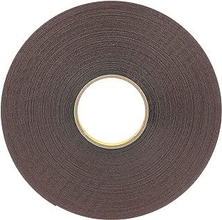 3M VHB Acrylic Foam Tape 5952, Black, 1 in x 36 yd, 45 mil, 9 rolls per case